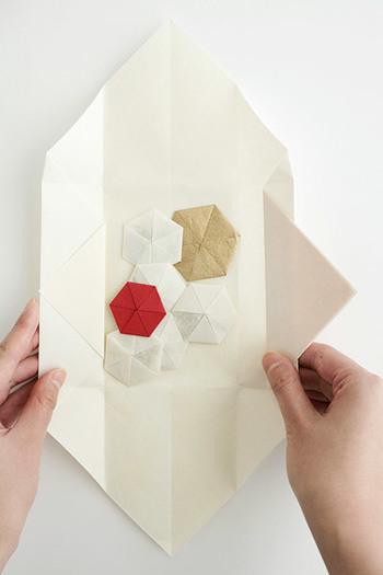 すべての折り紙 折り紙 バッグ : 折形デザイン研究所の折形文香 ...